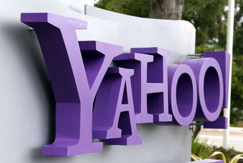 Yahoo! signage