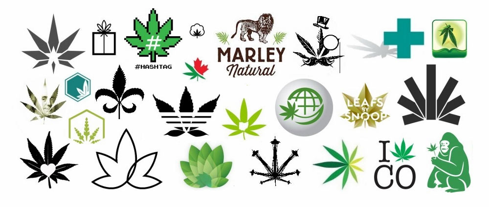 Marijuana logos