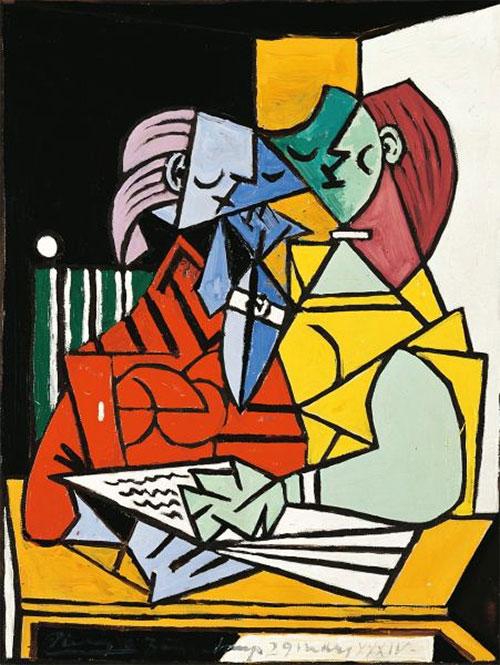 Picasso's Deux Personnages