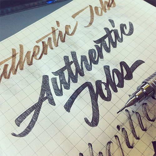 authentic-jobs-logo-sketch An Authentic update design tips
