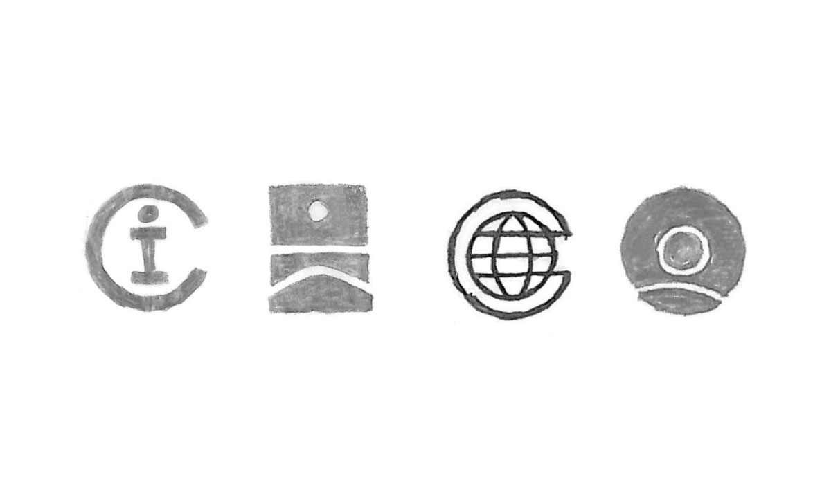 Conservation International logo sketch
