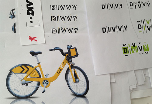 Divvy logo development