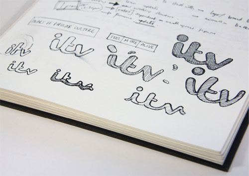 ITV logo sketches