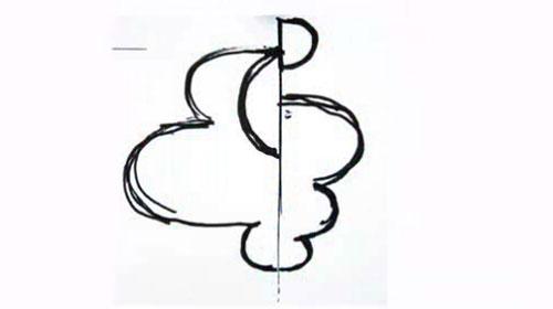 Swisscom logo sketch