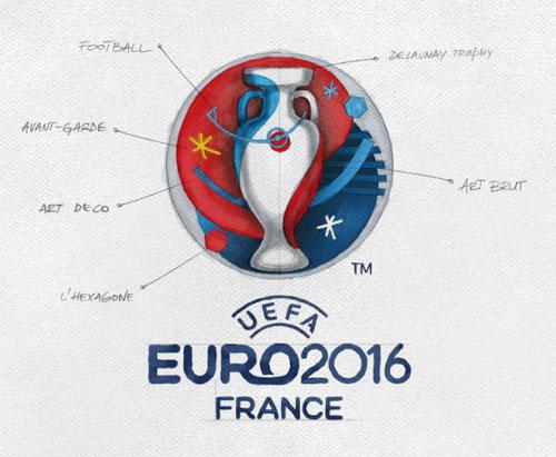 Euro 2016 logo