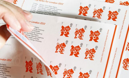 London 2012 stamps