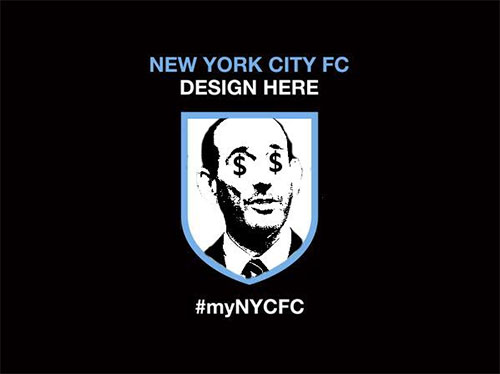 NYCFC, the Man City & Yankees co owned MLS franchise, asked fans to design the logo. It went wrong [Pictures]