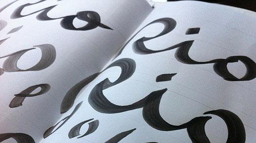 Rio 2016 typography