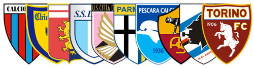 Serie A crests