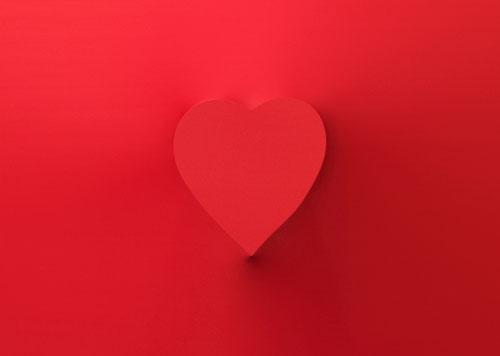 Heart spandex