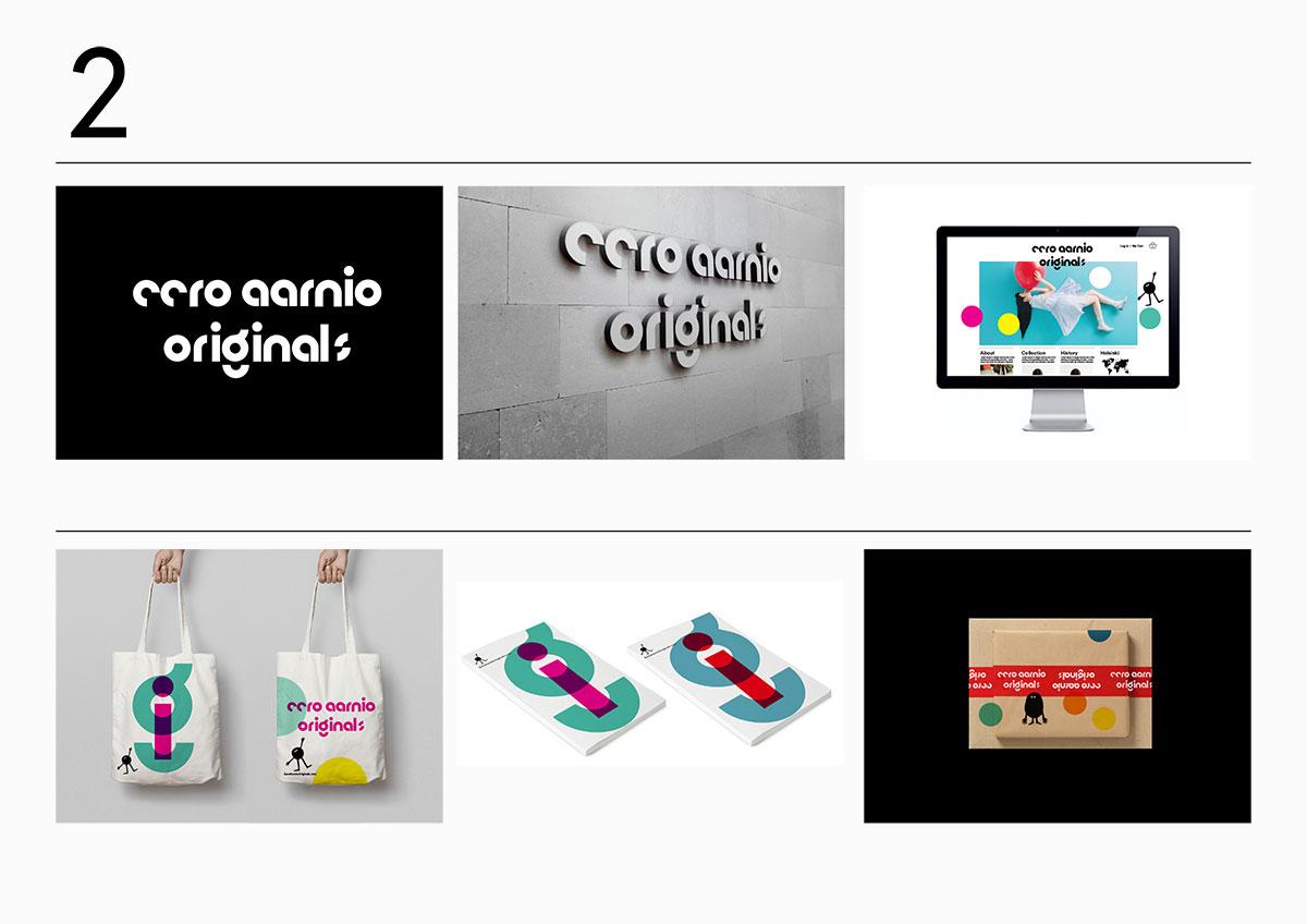 Eero Aarnio Originals logo idea