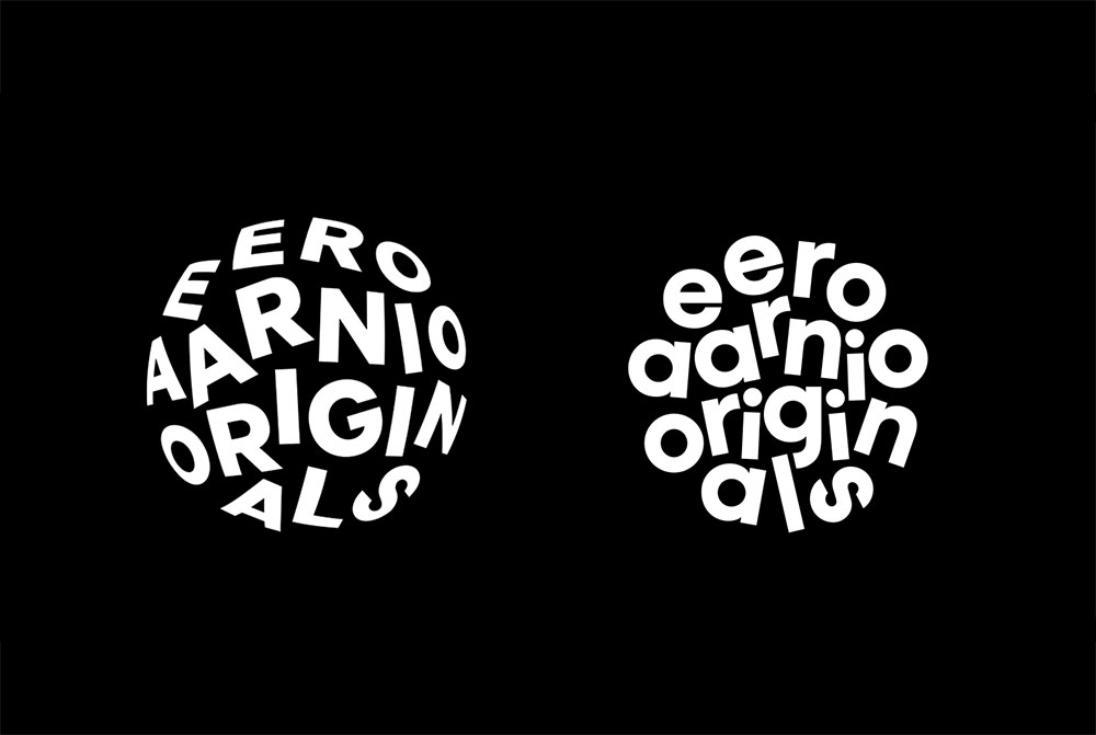 Eero Aarnio Originals logo ideas
