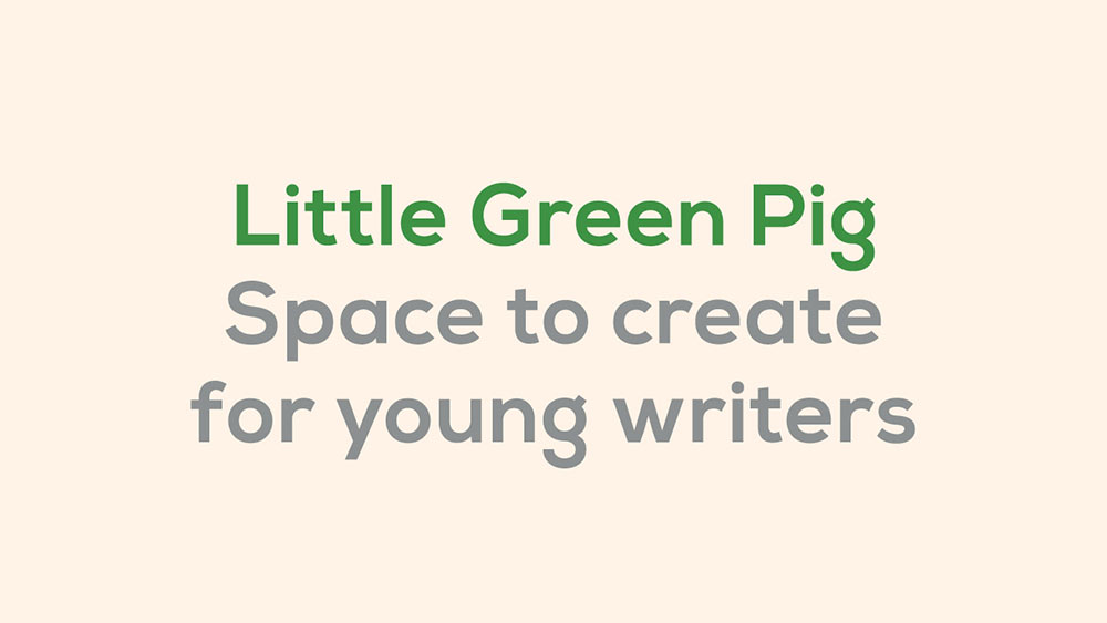 Little Green Pig wordmark