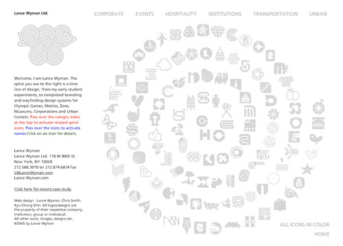 Lance Wyman website