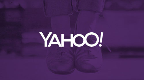 Yahoo! logo day one