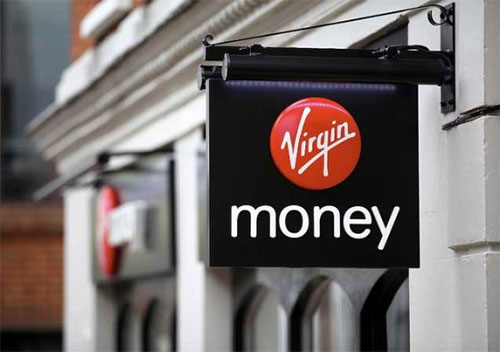 Virgin Money signage