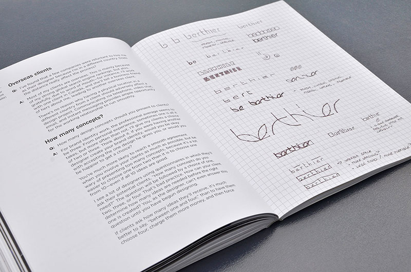 About the Logo Design Love book