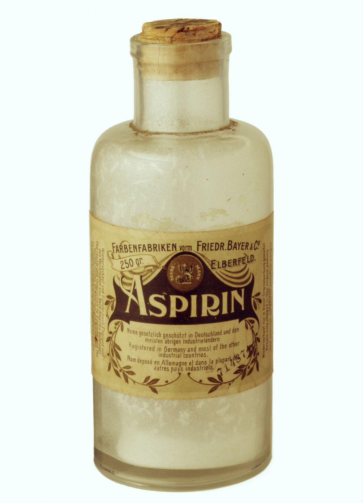 Bayer Aspirin bottle