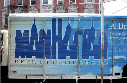 Manhattan beer logo