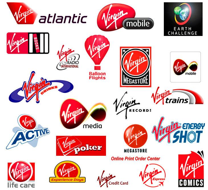 Virgin logos