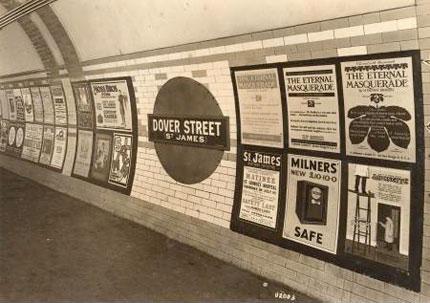 London Underground Dover Street