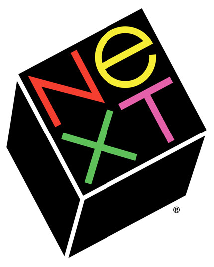 Next logo Paul Rand