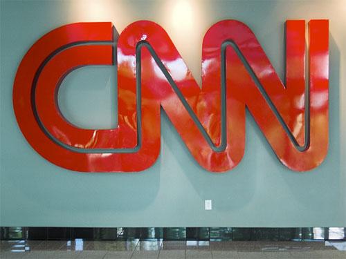 CNN logo signage