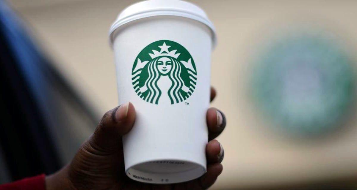 Starbucks logo cup