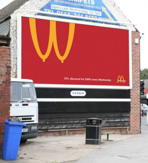 McDonalds logo Chip Shop Awards