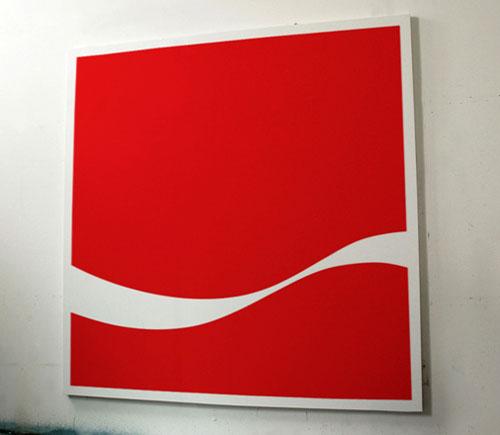 Minimal Coca-Cola logo