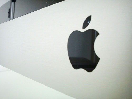 Apple logo iMac
