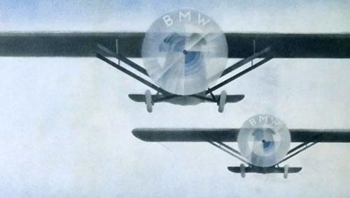 BMW logo propeller airscrew