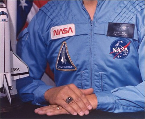 NASA uniform logos