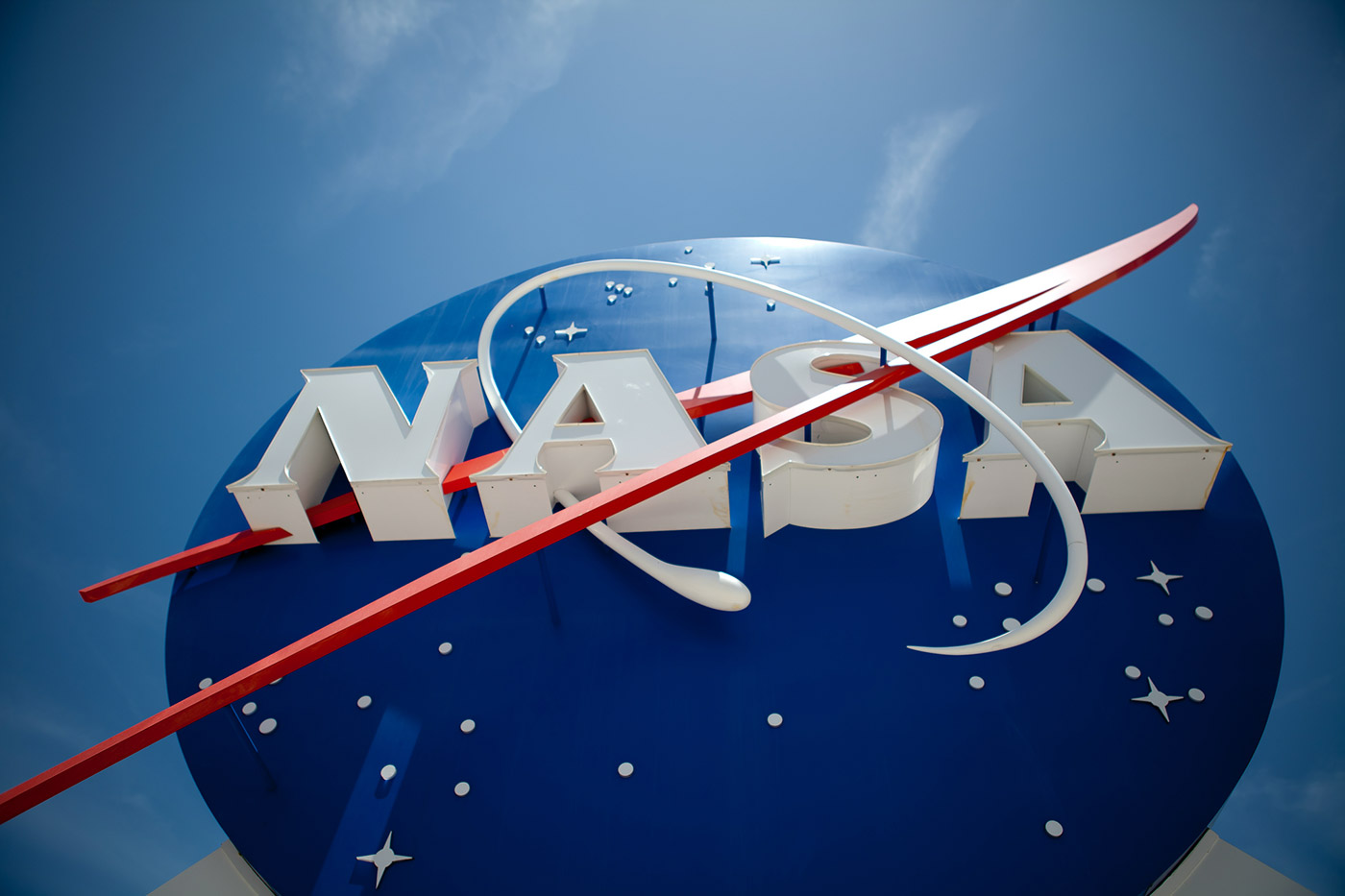 NASA signage meatball