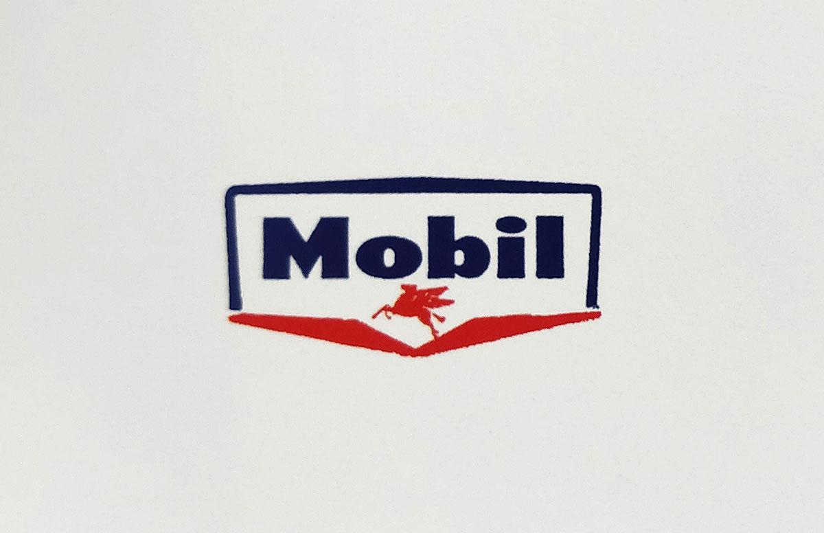 Mobil logo old design