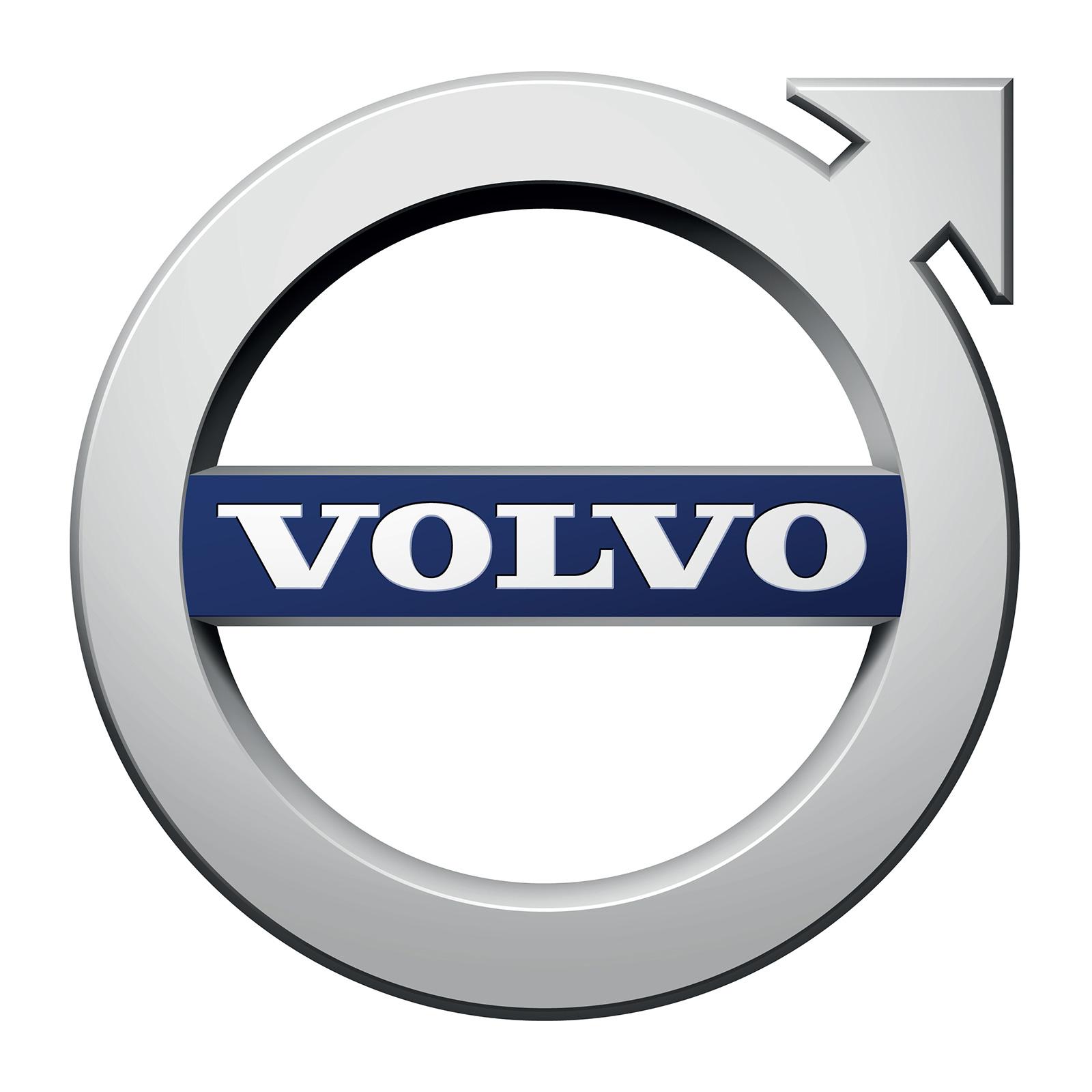 Volvo logo iron symbol