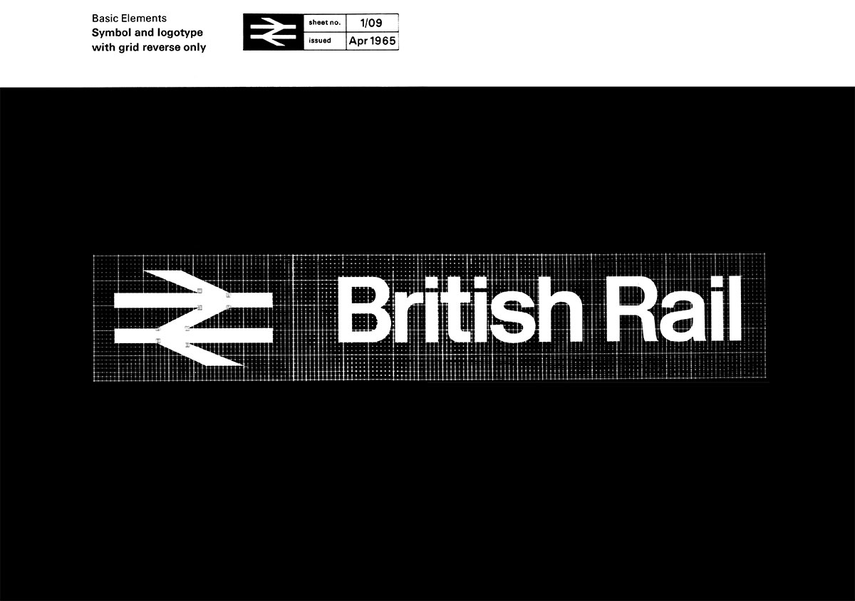 British Rail identity guidelines