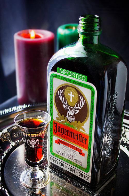 Jagermeister bottle and logo