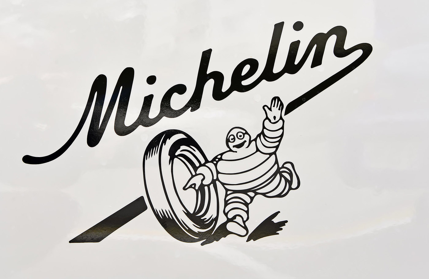 Michelin man Bibendum logo