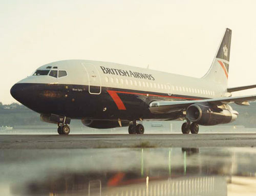 British Airways Boeing 737