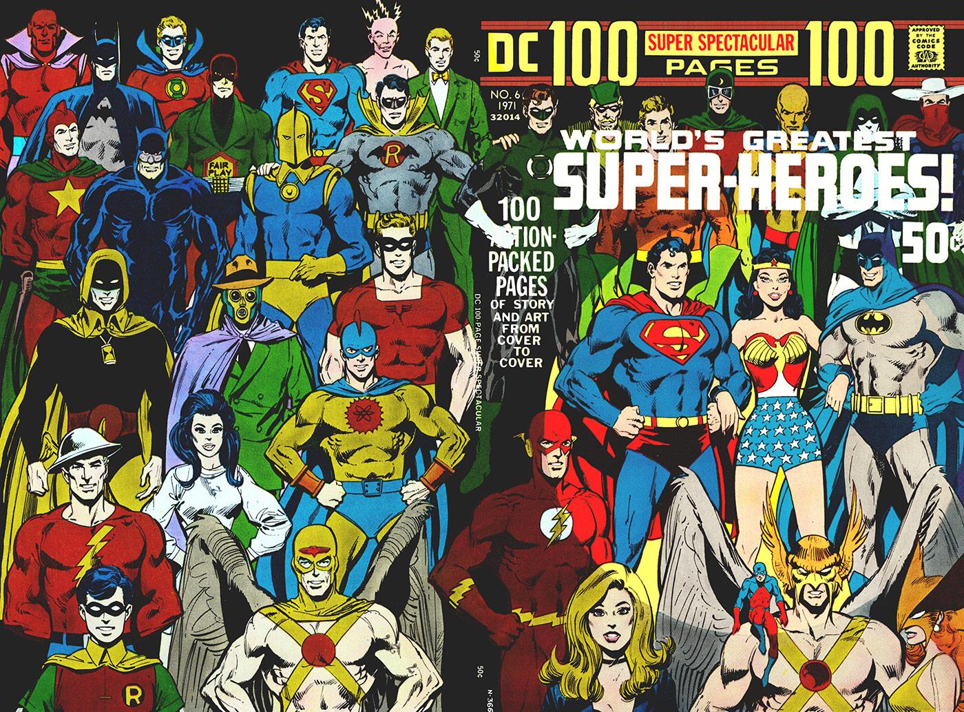DC super-heroes gallery