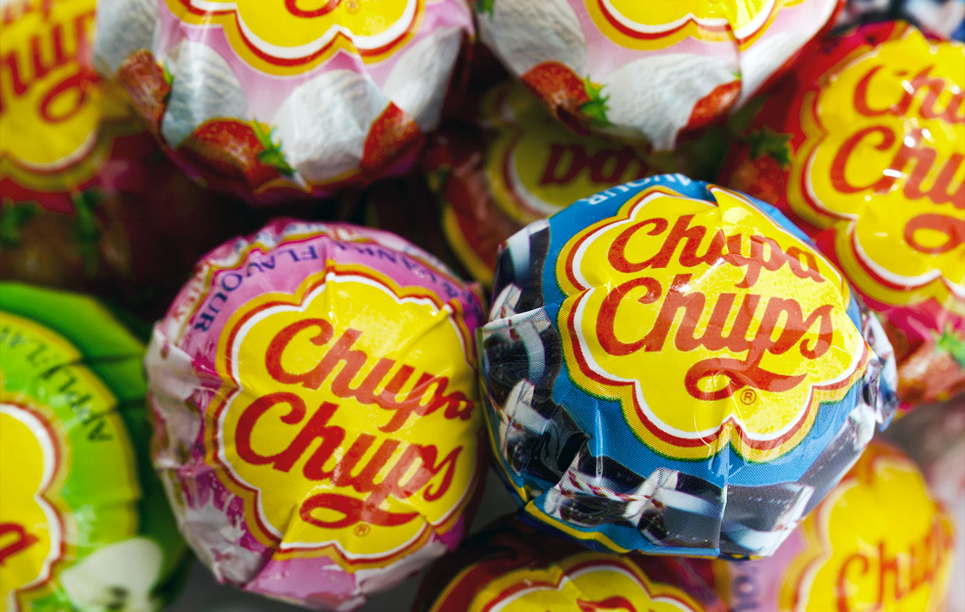 chupa chups logo designed by salvador dali logo design love