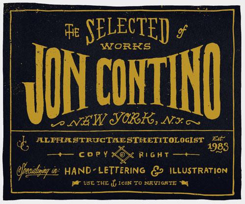 Jon Contino logo