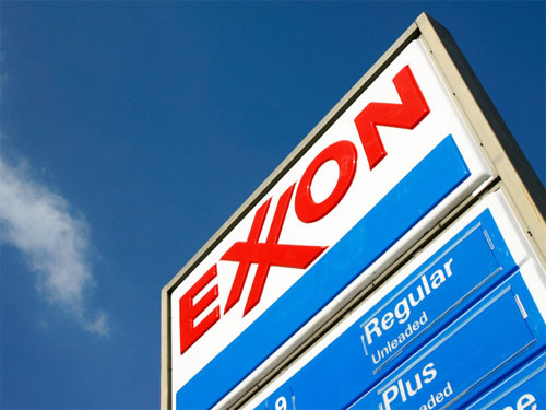 Exxon logo Loewy