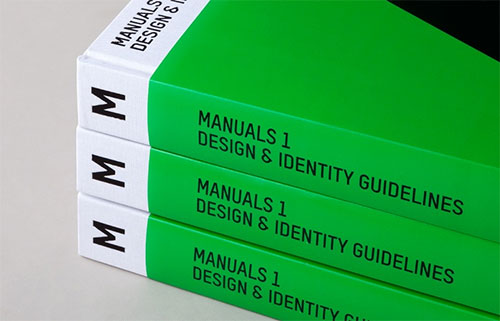 Manuals identity guidelines