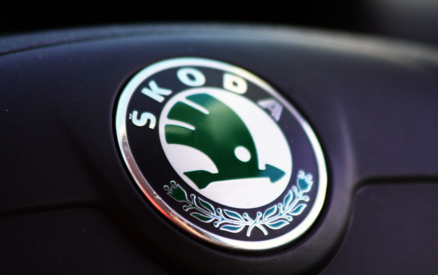 Evolution of the skoda logo