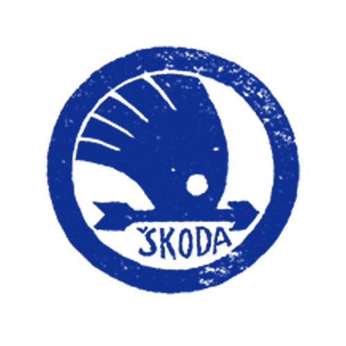 Skoda logo 1924-25