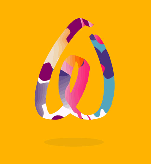 Airbnb logo Belo