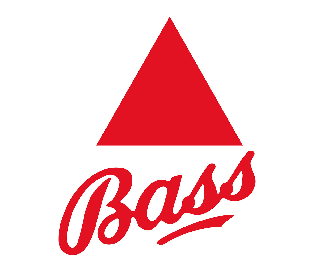 Bass triangle logo