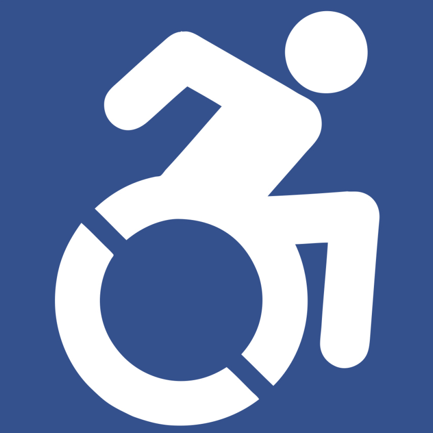 Wheelchair logo New York